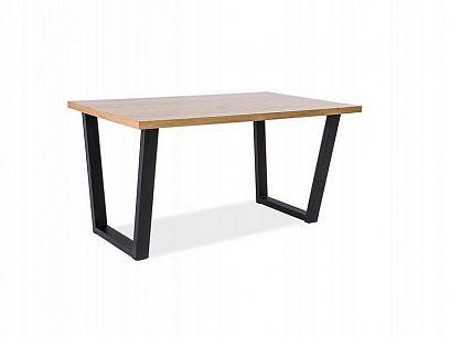VENROLINO 120 jídelní stůl, dub/černá