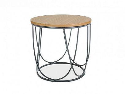 STEVIE II konferenční stolek, dub/černá