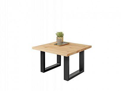 Malta konferenční stolek čtverec, dub přírodní