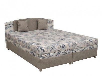IZABELA NEW čalouněná postel 180 cm, šedá