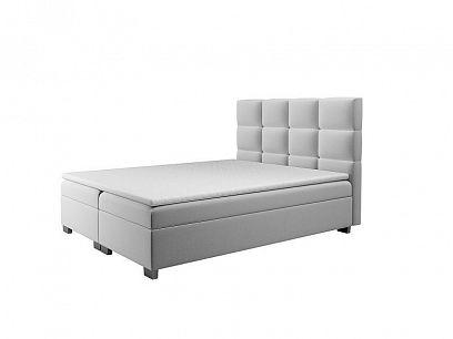 KATARINA NEW boxspring postel 180, světle šedá
