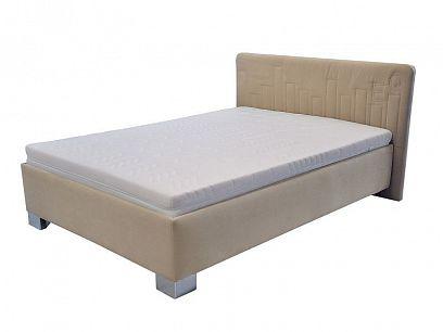 Donatela čalouněná postel 140, béžová