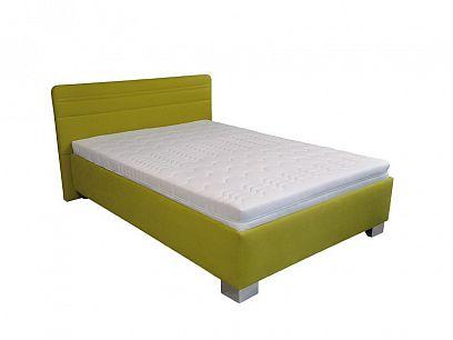 CINDY čalouněná postel 160, limetka
