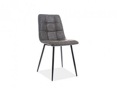 LOOK jídelní židle, šedá