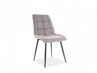 CHIC jídelní židle, šedá