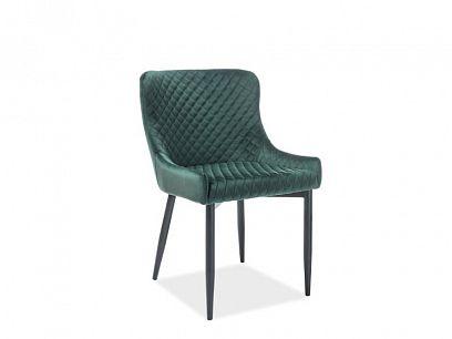 COLIN B jídelní židle, tmavě zelená