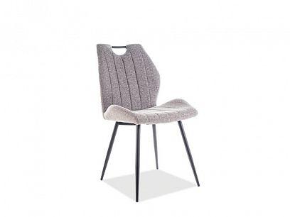 ARCO jídelní židle, šedá