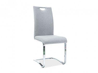 H-790 jídelní židle, šedá