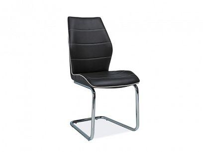 H-331 jídelní židle, černá
