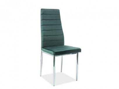 H-261 VELVET jídelní židle, zelená