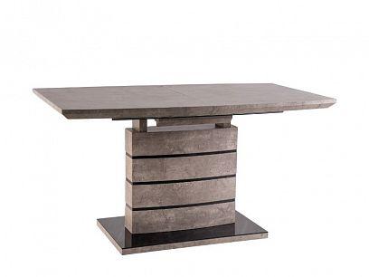 LEONARDO 1 rozkládací jídelní stůl, beton