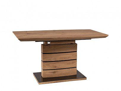 LEONARDO 1 rozkládací jídelní stůl, dub