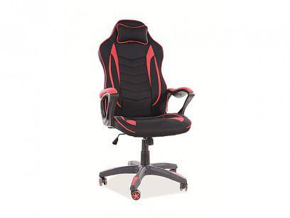 ZENVO kancelářská židle, černá/červená