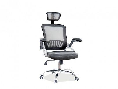 Q-831 kancelářská židle, černá