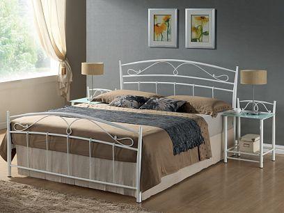 SIENA postel 140, bílá
