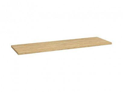 Semi Line Pracovní deska 200 cm, dub zlatý