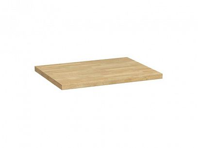 Semi Line Pracovní deska 80 cm, dub zlatý