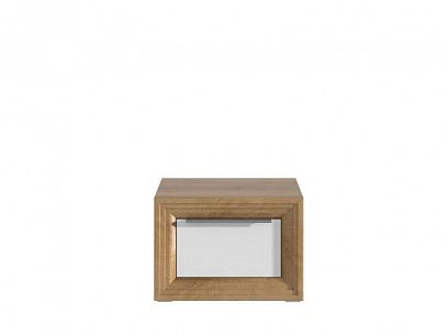 Odessa Noční stolek OD21, dub riviéra/bílá
