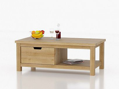 Frame Konferenční stolek Dub riviéra