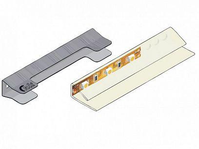 Osvětlení do vitrín Rondo 10 a 15, bílé teplé LED