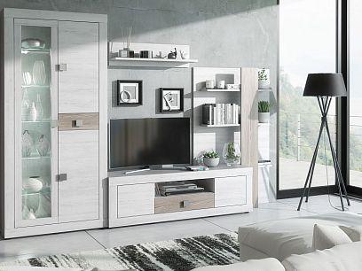 MICHELLE obývací stěna, pinie bílá Andersen