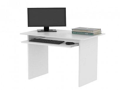 TWISTER počítačový stůl, bílá