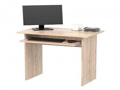 TWISTER počítačový stůl, dub sonoma