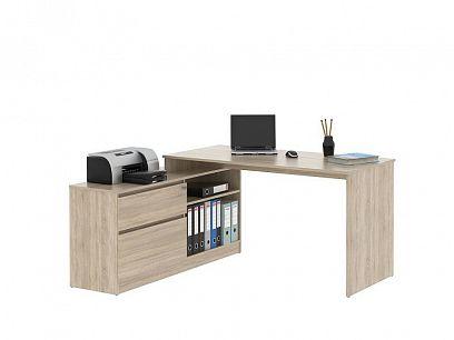 GEEP 01  psací stůl, dub sonoma