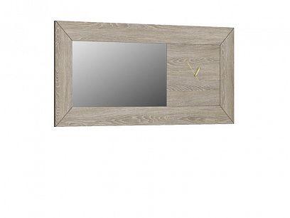 Portugal zrcadlo s hodinami, dub gran/zrcadlo