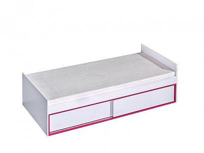 TRUFEL 13 postel 90, bílá/růžová