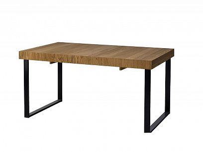 MONURIKI 40 jídelní stůl, dub medový/černý mat