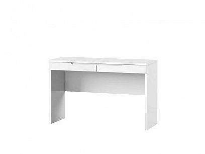 SAMOA 31 toaletní stolek, bílá mat/bílá lesk