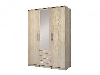 ŠEBA 3D šatní skříň, dub sonoma