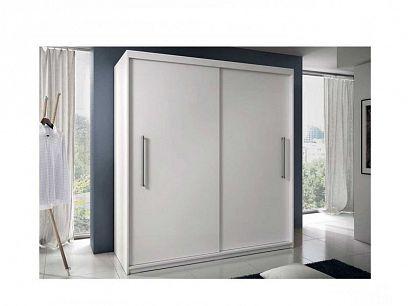 TORONTO šatní skříň 200, bílá