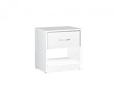 MARIO noční stolek, bílý mat