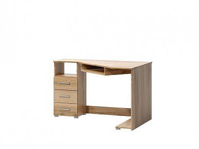 ARAMIS 17 psací stůl levý, dub wotan