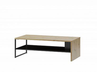 Laki 41 konferenční stolek, dub artisan/černý mat