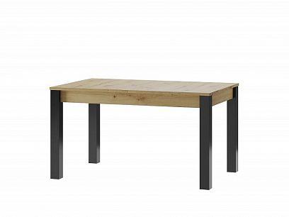 Laki 40 jídelní stůl, dub artisan/černý mat