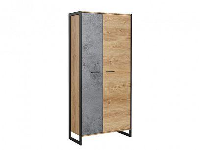 IKARIA šatní skříň, dub zlatý/oxid efek