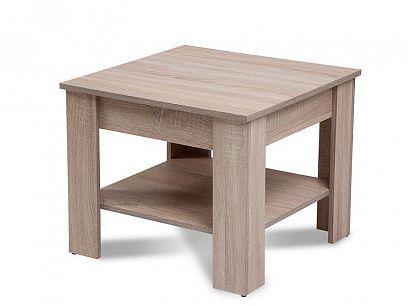 ARTUR konferenční stolek 67 X 67, dub sonoma