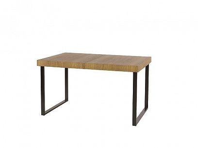 Paris 40 jídelní stůl, dub rustical/černá