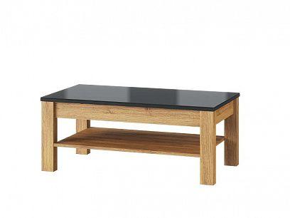 Kamali 41 konferenční stolek, dub camargue/černá mat