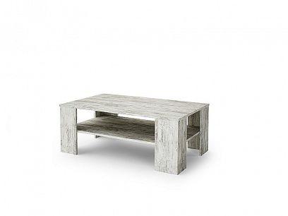 PRIME konferenční stolek, borovice bílá canyon
