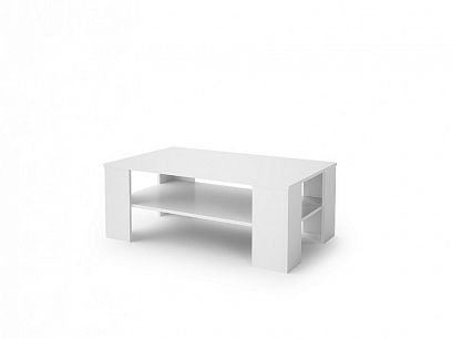 PRIME konferenční stolek, bílá