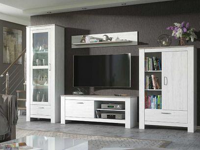 FILIP obývací stěna, borovice bílá andersen