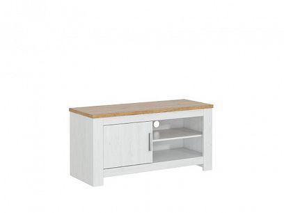 ROTTERDAM 61 televizní stolek, borovice bílá andersen/dub