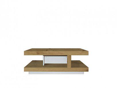 Rimini II new konferenční stolek law110, ořech salev/bílá lesk
