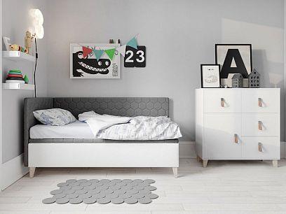 Felicita New postel 80, pravá, šedá