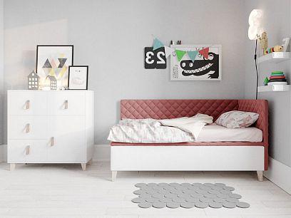 Felicita New postel 80, levá, růžová