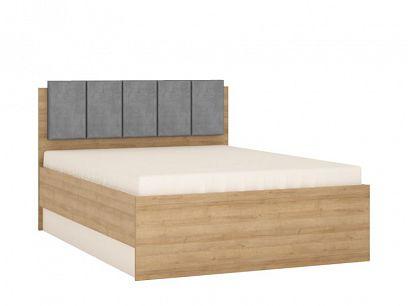 CANTUS postel 140, dub riviéra světlý/bílá